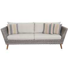 Brighton Patio Sofa with Cushions