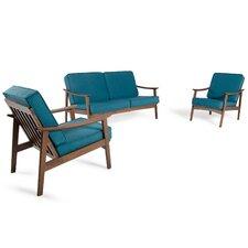 Fontana 3 Piece Living Room Set