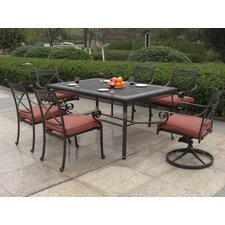 Today Only Sale Bar Harbor 7 Piece Dining Set