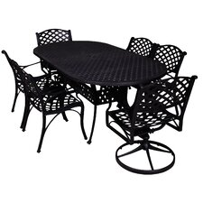 Today Sale Only La Jolla 7 Piece Dining Set