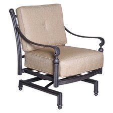 Baldwin Spring Club Chair with Sunbrella Cushion