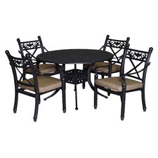 Baldwin 5 Piece Dining Set with Cushions