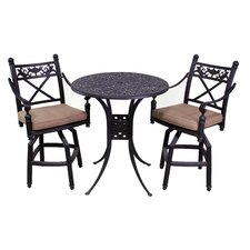 Baldwin 3 Piece Bar Set with Cushions