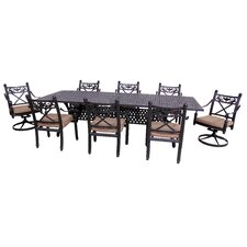 Baldwin 9 Piece Dining Set with Cushions