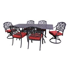 Roma 7 Piece Dining Set with Cushions