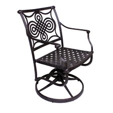 Bermuda Swivel Rocker Dining Arm Chair
