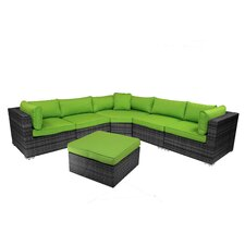 Best Choices Santa Monica 6 Piece Sectional Group with Cushion