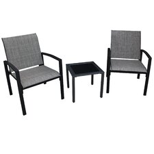 Galveston 3 Piece Dining Set