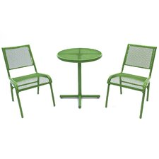 Bixby 3 Piece Bistro Dining Set