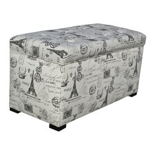Pavot Upholstered Storage Bedroom Bench