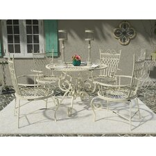 Lamarre 5 Piece Outdoor Dining Set