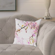 Best #1 Roussillon Cherry Blossom Outdoor Throw Pillow
