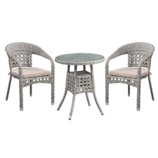 Alex 3 Piece Bistro Set