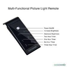 Tru-Slim Hardwired 18-Light LED Picture Light