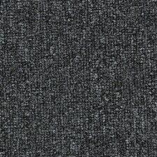 """Hollytex Modular Upshot 24"""" x 24"""" Carpet Tile in Charcoal"""