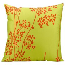 Weeds Outdoor Throw Pillow