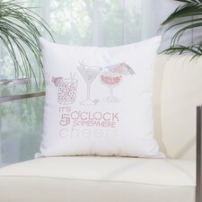 Margarita Outdoor Throw Pillow