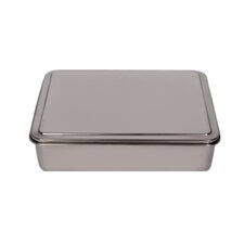 Stainless Steel Covered Cake Pan  YBM Home