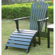 Herry Up Adirondack Chair and Footstool Set
