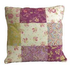 Ned Indoor/Outdoor Patchwork Pattern Cotton Throw Pillow