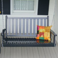 Janelle Wrightsville Hanging Porch Swing with Chain