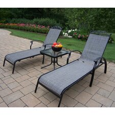 Basile 3 Piece Lounge Seating Set