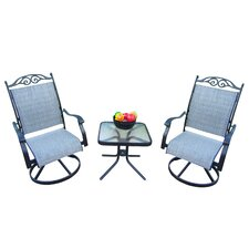 Basile 3 Piece Dining Set
