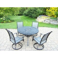 Basile 5 Piece Dining Set