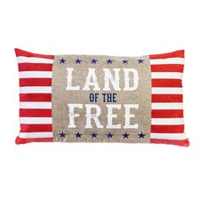 Looking for Powers Lake Land of the Free Indoor/Outdoor Lumbar Pillow