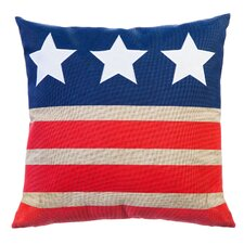 Nita Stars and Stripes Indoor/Outdoor Throw Pillow