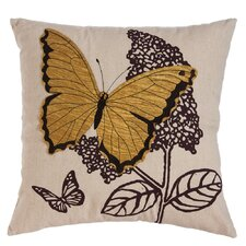 Baker Nature's Bounty Butterfly Indoor/Outdoor Throw Pillow