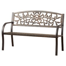 Georgiana Metal Garden Bench