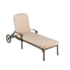 Oliver Chaise Lounge with Cushion