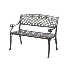 Markham Cast Aluminum Garden Bench