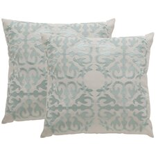 Today Only Sale Moroccan Indoor / Outdoor Euro Pillow (Set of 2)
