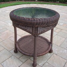 Claremont Wicker Side Table