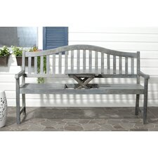 Volusia Wood Garden Bench