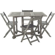 Great Reviews Roosevelt Gardens 5 Piece Dining Set