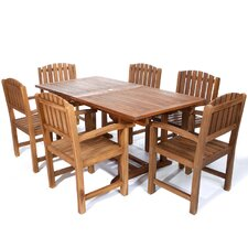 Pleasanton 7 Piece Dining Set