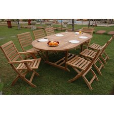 Amazing Milena 9 Piece Dining Set
