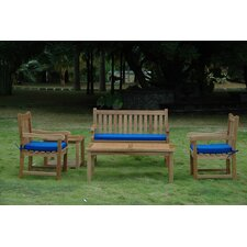 Milena 5 Piece Bench Seating Group