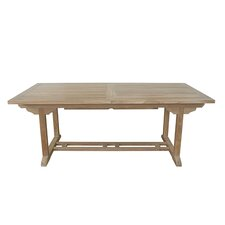 Milena Rectangular Extension Dining Table