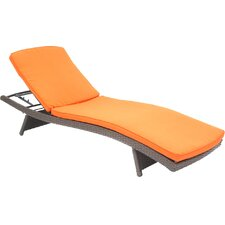 Friendship Harbor Chaise Lounge with Cushion (Set of 2)