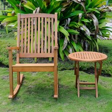 Bristol 2 Piece Patio Chair and Table Set