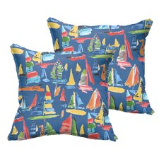 Ponce Indoor/Outdoor Throw Pillow (Set of 2)