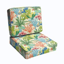 Bronson 2 Piece Outdoor Chair Cushion Set