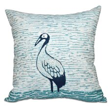 Surrey Bird Outdoor Throw Pillow