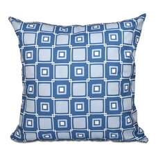 Rocio Square Pop Geometric Print Outdoor Throw Pillow