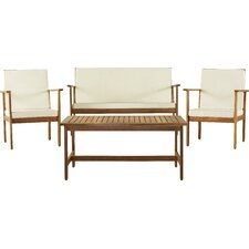 Lakeside 4 Piece Deep Seating Group with Cushion
