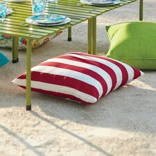 Striped Outdoor Throw Pillow